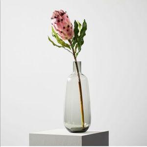 West elm Faux Pink King Protea Plant Stem